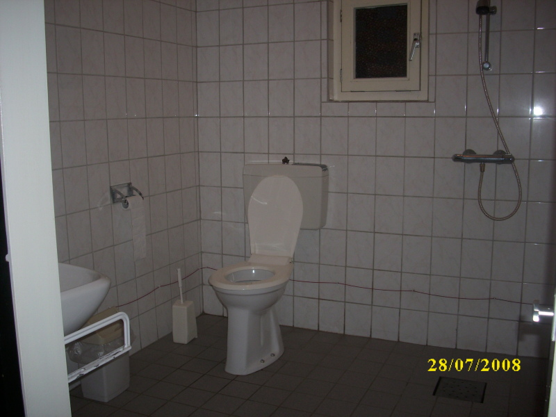Badkamer  Welkom bij Kampeerboerderij van Gompel! # Wasbak Toilet_215206
